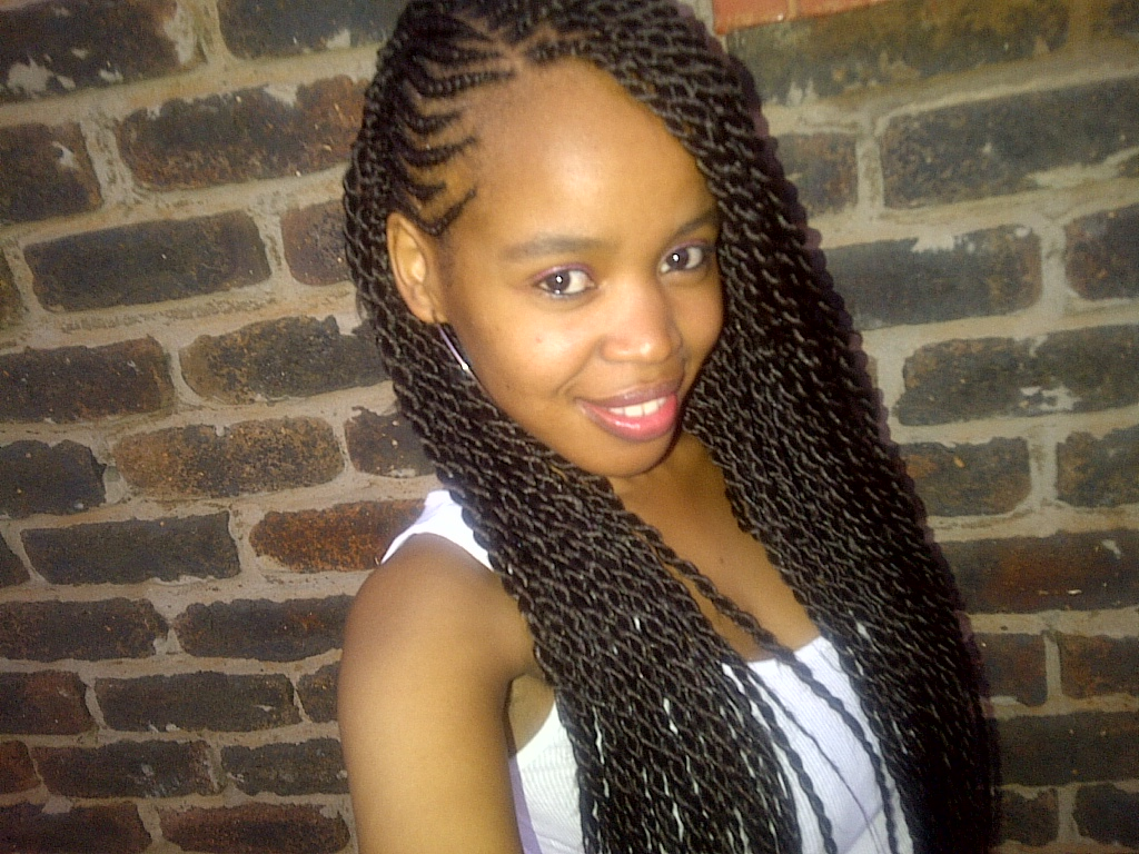 cute twists black hairstyles