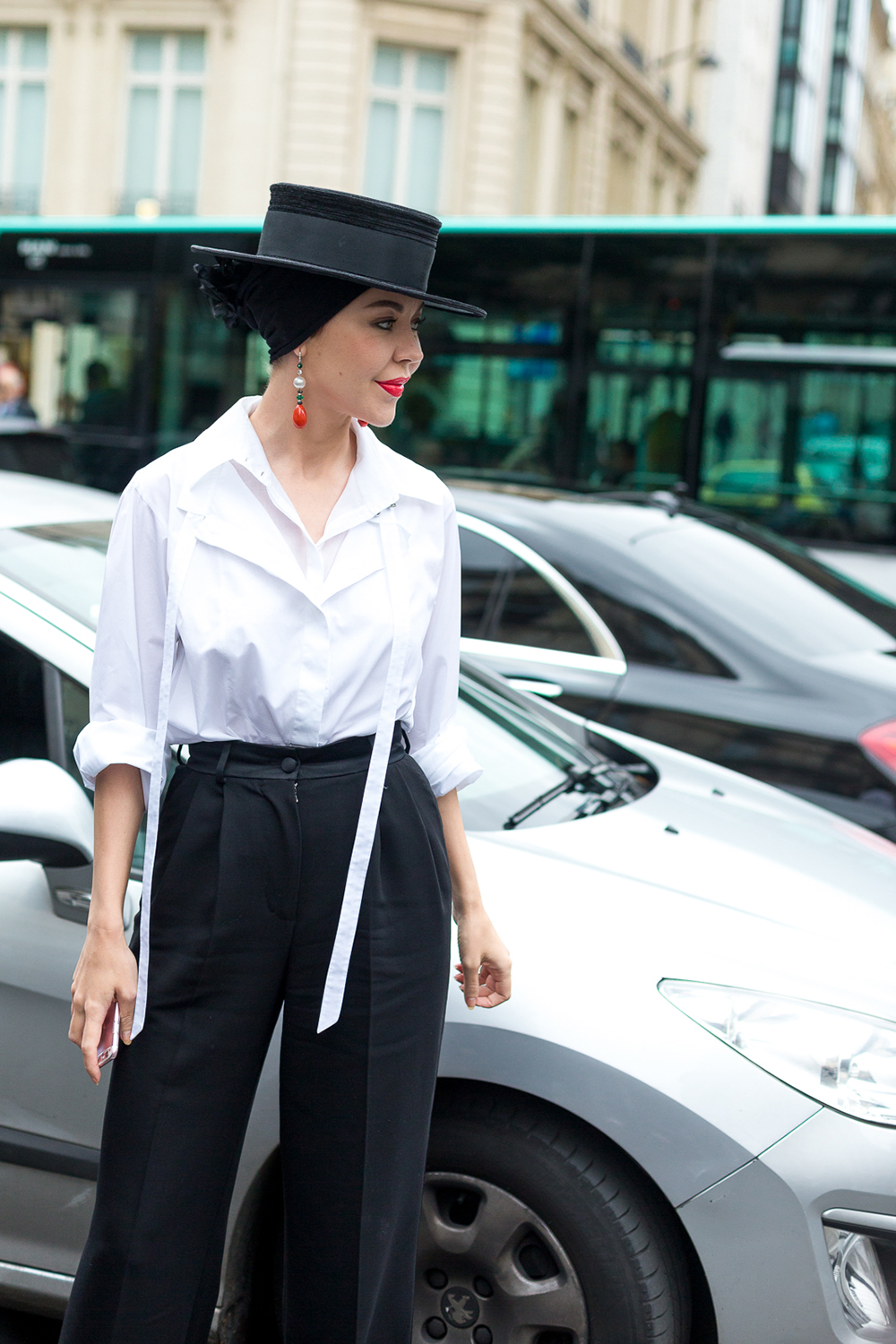 extravagant street style looks 2017 Couture