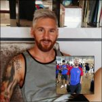 Messi New Look 2016: Platinum Blonde Hairstyles for Men