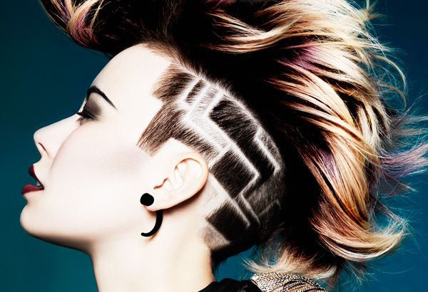 undercut Mohawk hairstyles for women