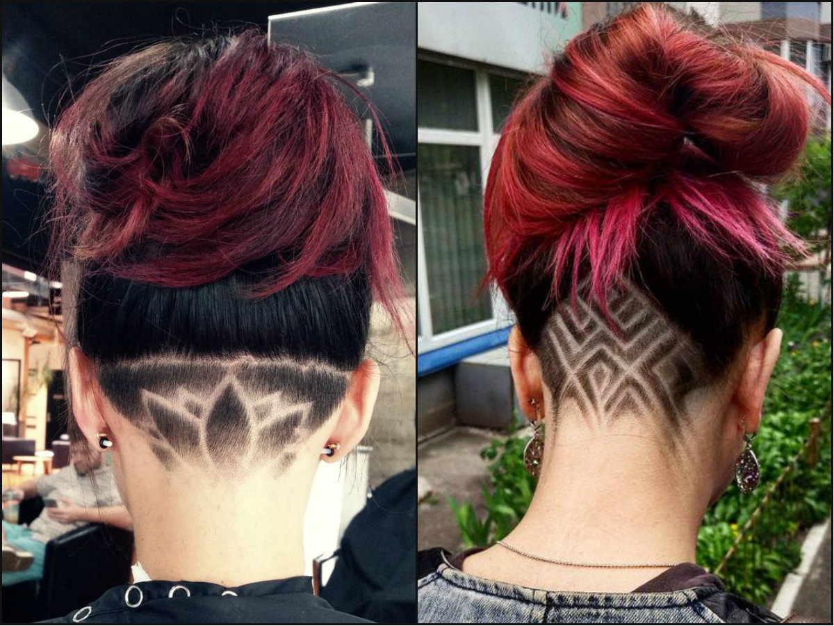 Undercut Hairstyles: Cool Undercut Female Hairstyles To Show Off