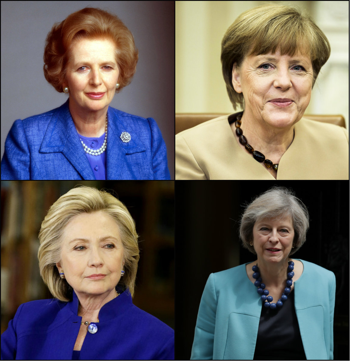 "Why Women Political Leaders ""Power Cuts"" Are Bob Hairstyles"