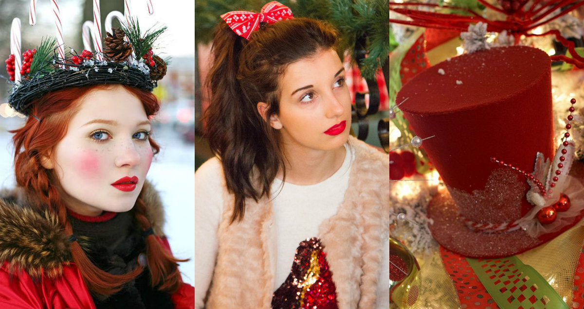 Christmas Hairstyles & Hair Accessories to Meet 2017