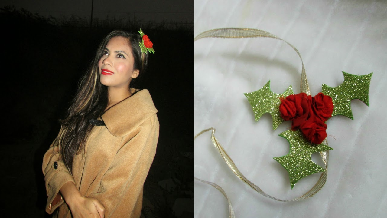 DIY New Year hedband