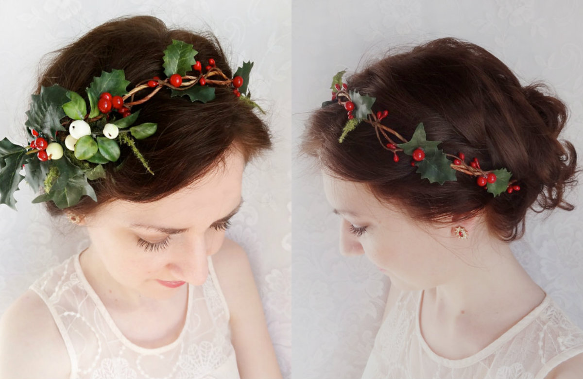 Hair accessories for Christmas 2017