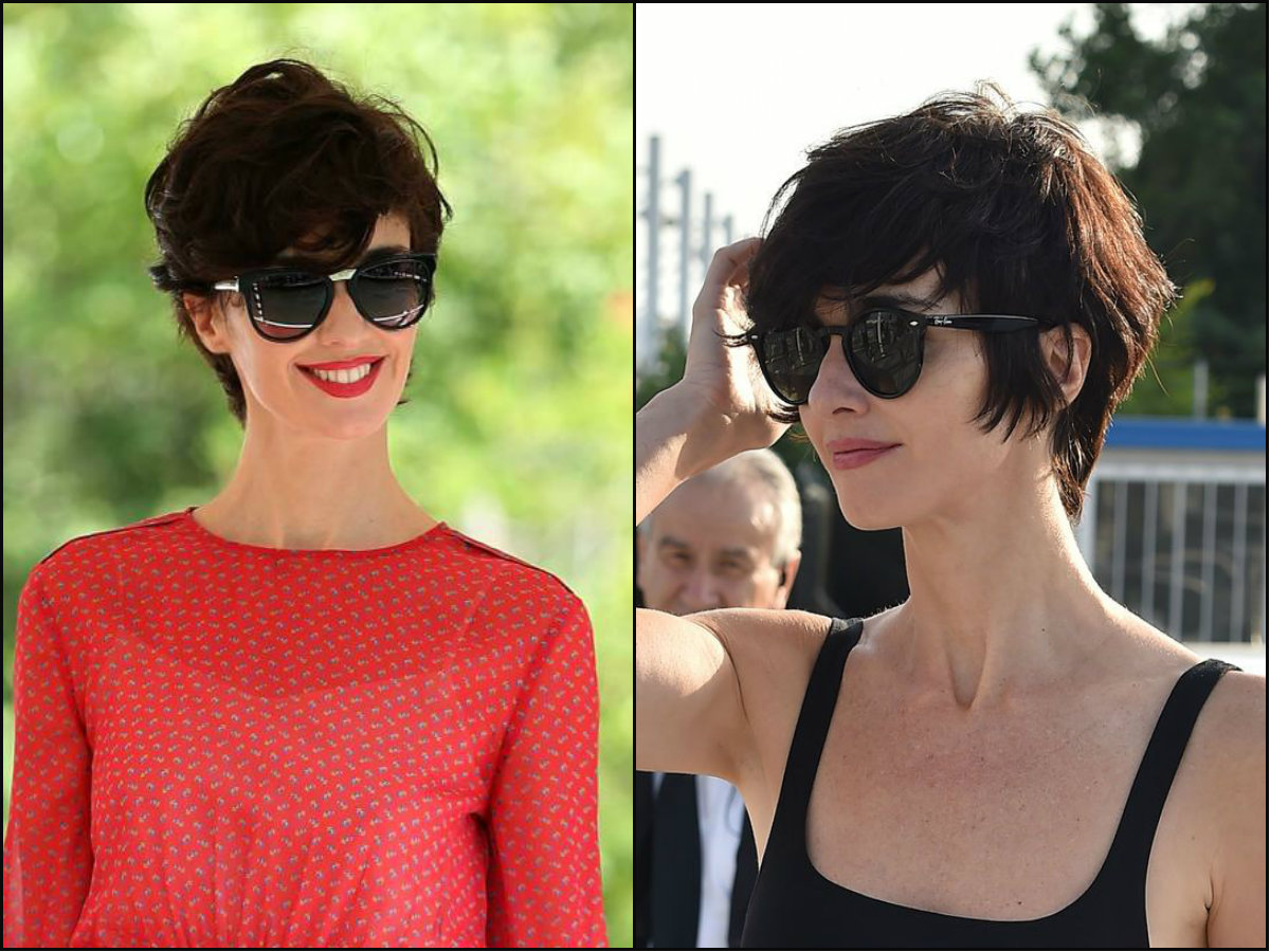 Paz Vega long pixie hairstyles