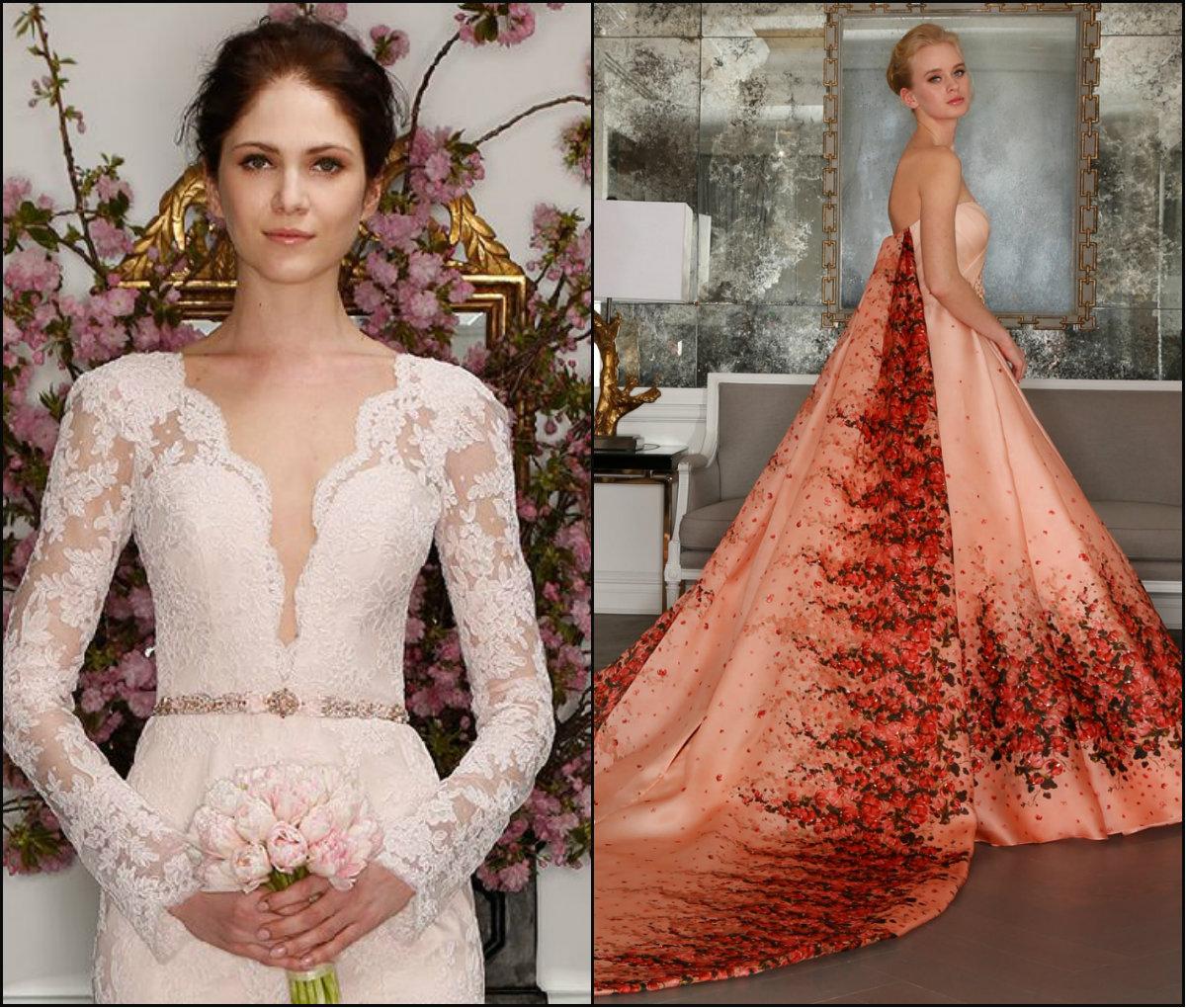 Romona Keveza bridal spring hairstyles 2017
