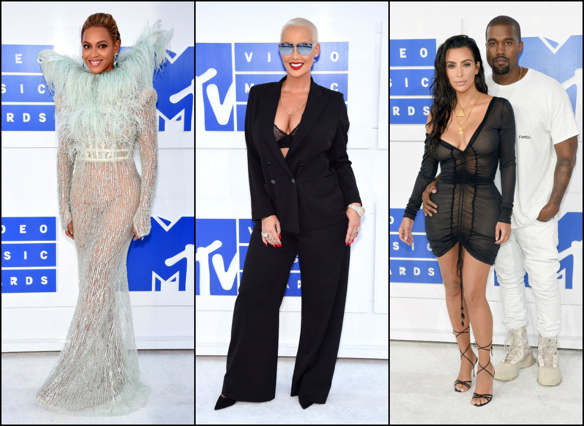 VMA 2016 celebrity looks and hairstyles