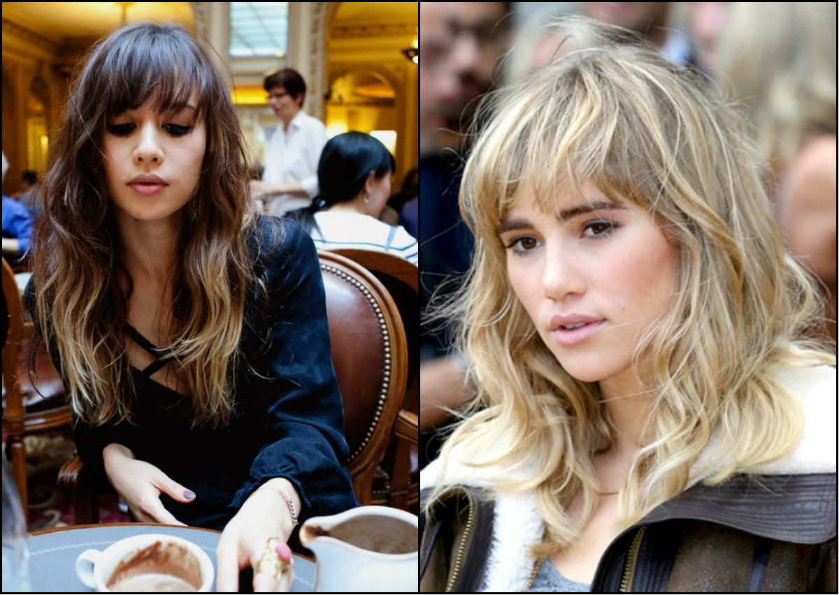 bedhead hairstyles with bangs