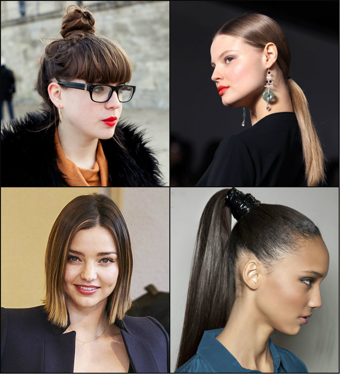 Strict Office Work Hairstyles 2017 For