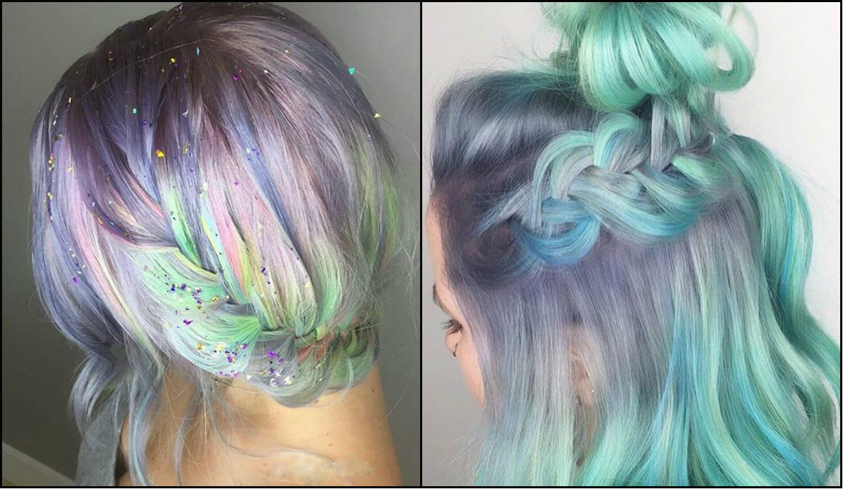 cute pastel braids hairstyles