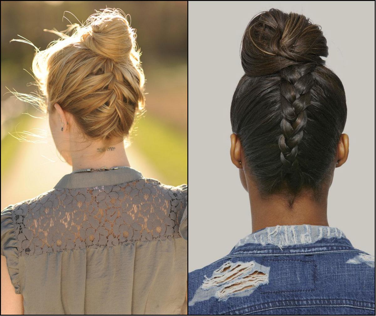 Braided Bun Hairstyles To Look Cool Amp Nice Hairstyles