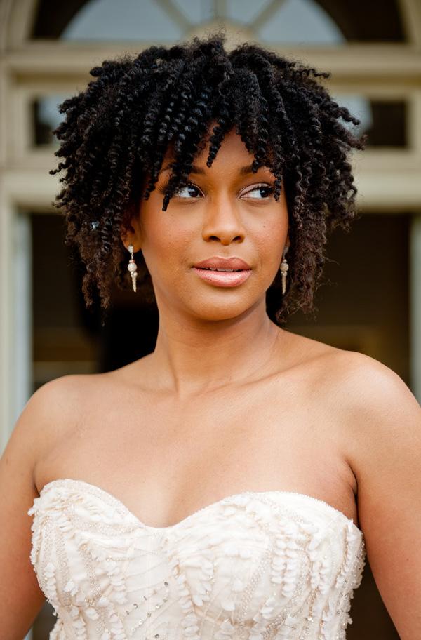 Tremendous Black Women Wedding Afro Hairstyles Hairstyles 2016 Hair Colors Hairstyles For Women Draintrainus