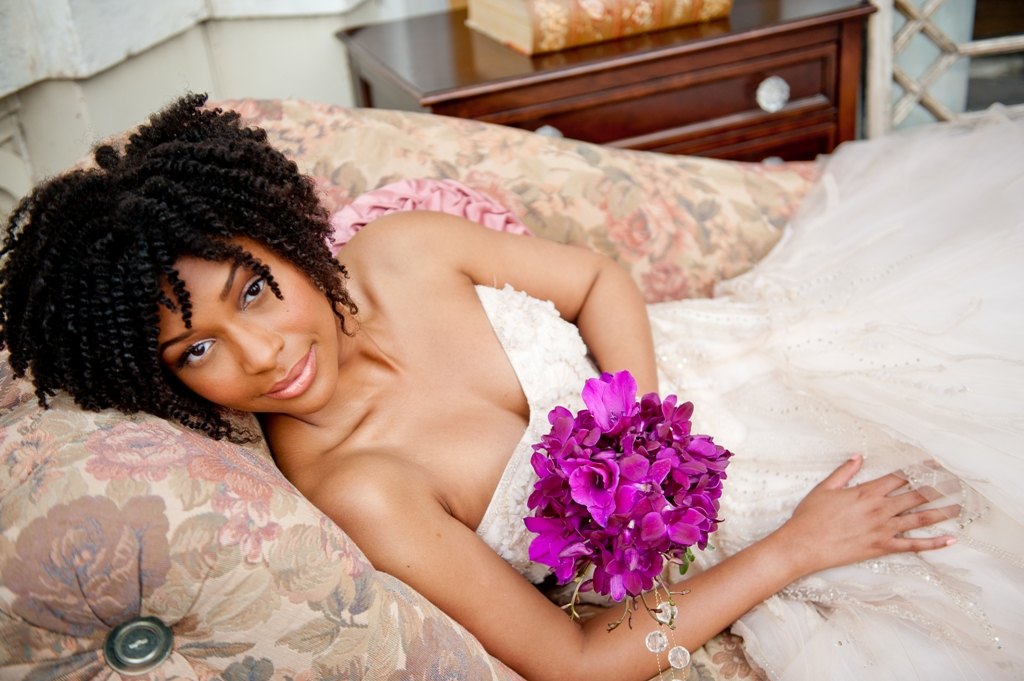 wedding short afro hairstyles