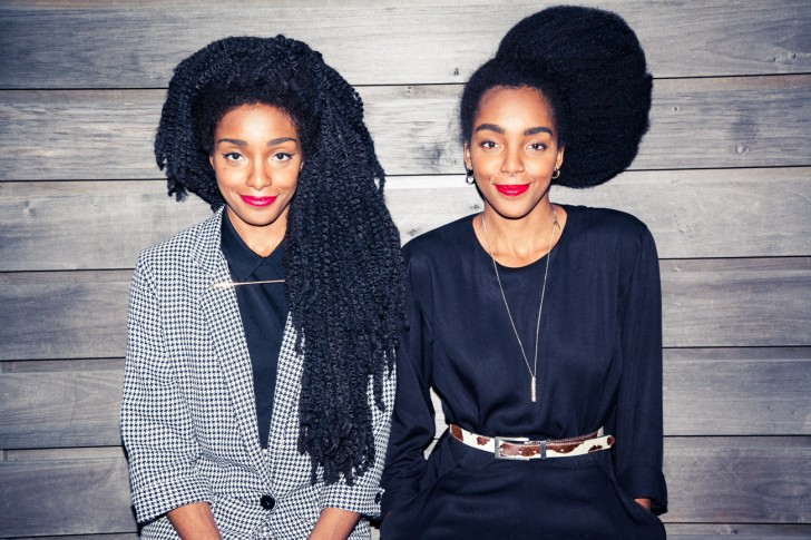 authentic black hairstyles Cipriana and TK