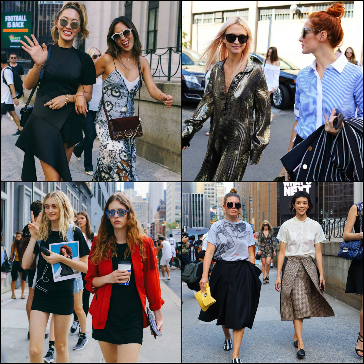 NYFW Best Street Style Hairstyles 2017 Spring