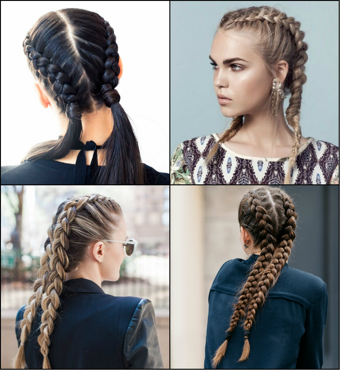 Volitional Double Braids Hairstyles To Dare Look Different ...