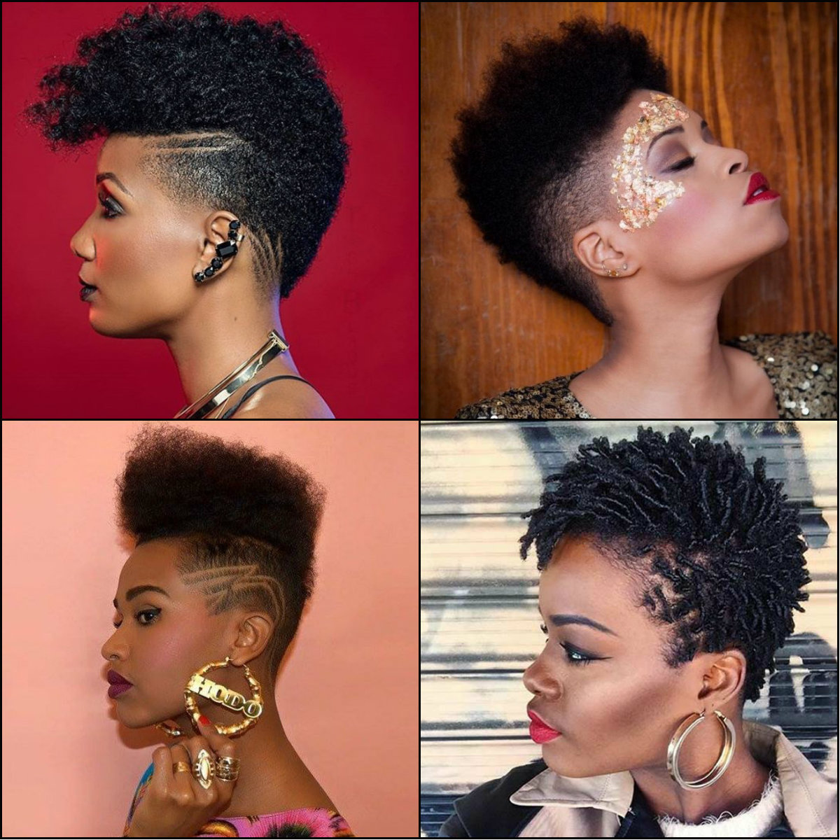 black women fade haircuts 2017
