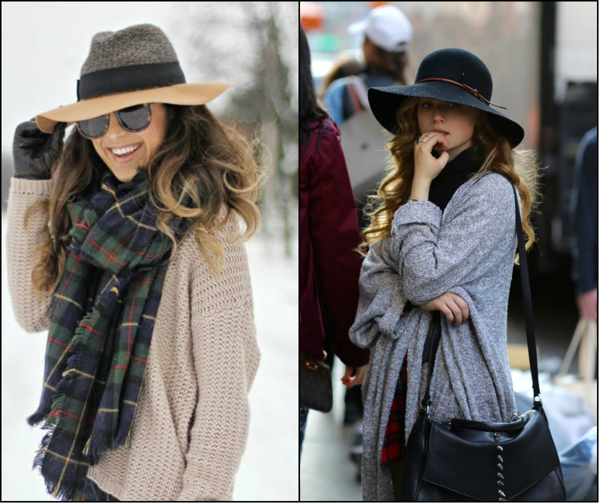 fall winter 2016-2017 hats and hairstyles