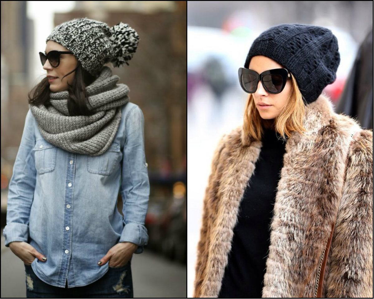 fall-winter 2017 hairstyles with hats