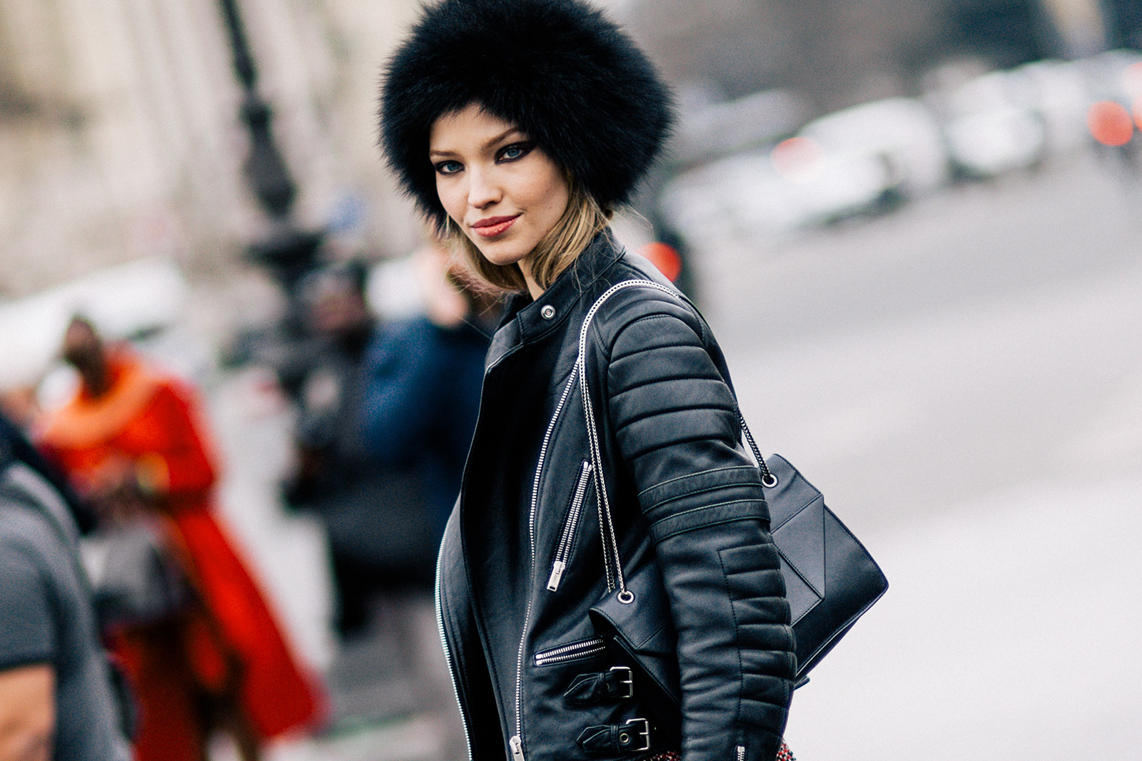 fur hats and hairstyles for cold winter 2017