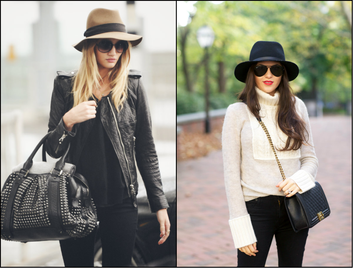 winter hairstyles and hats 2017