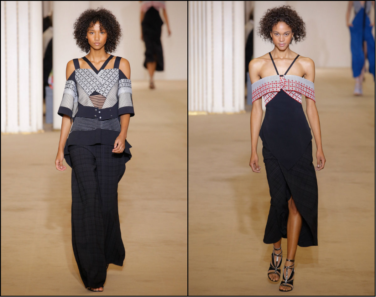 roland-mouret-mid-length-natural-curly-blakc-hair