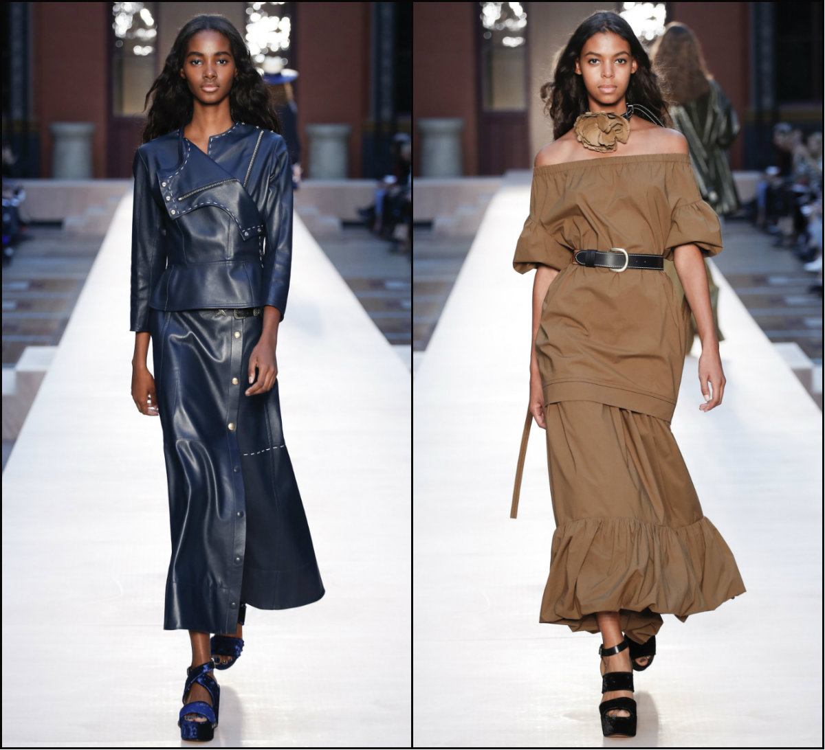 sonia-rykiel-long-mid-part-hairstyles-for-black-women-for-2017