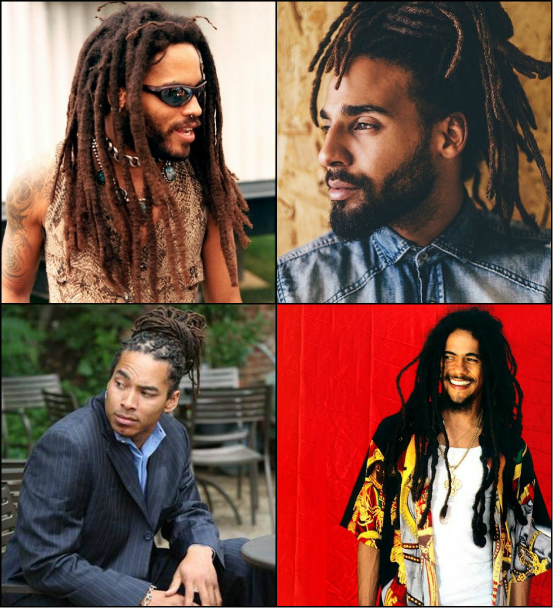 Coolest Dreads Hairstyles for Men