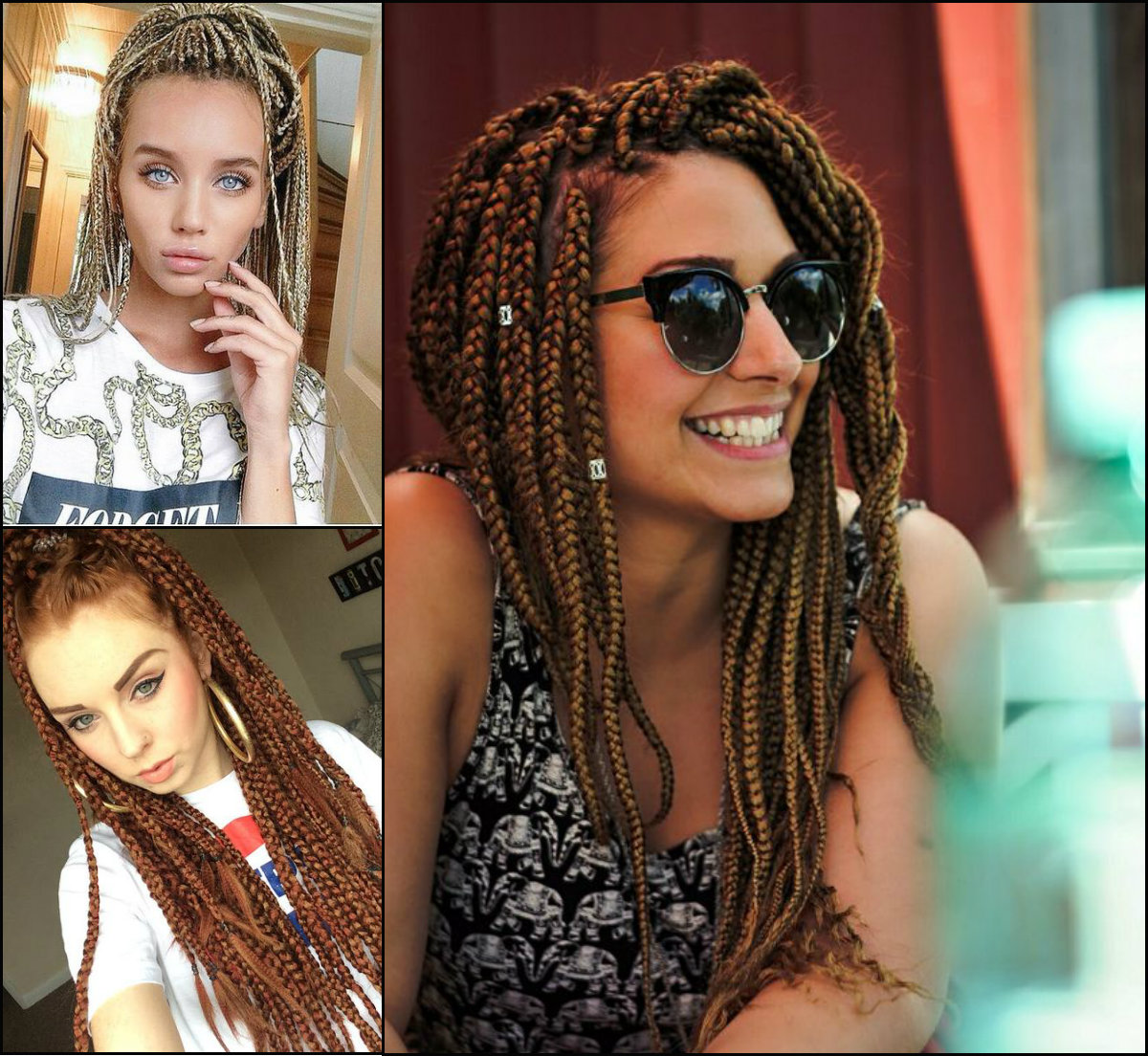 White Girl Box Braids Hairstyles To Try Now