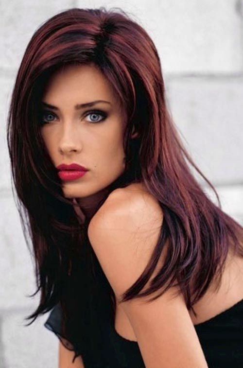 Auburn Hair Ranges In Shades From Medium To Dark Colour Is Red Hot At The