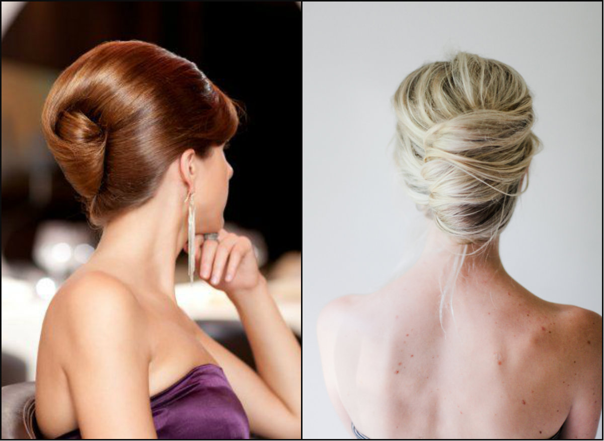 polished-and-messy-french-twist-hair