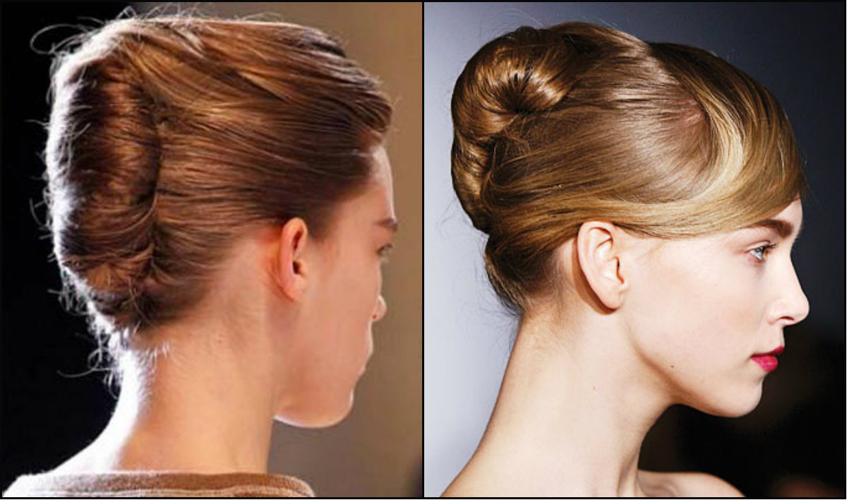 runway-french-twist-hairstyles