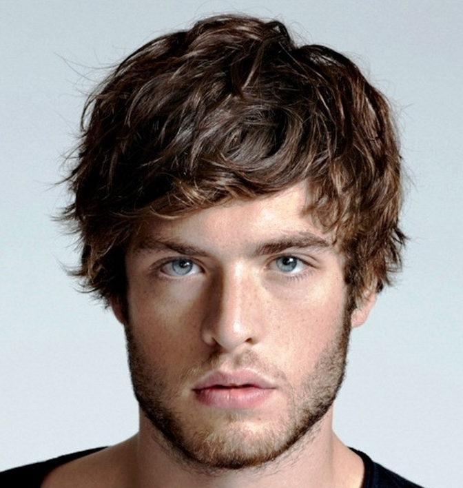 Peachy Best Men39S Short Hairstyles For Thick Hair Pretty Hairstyles Com Hairstyles For Women Draintrainus