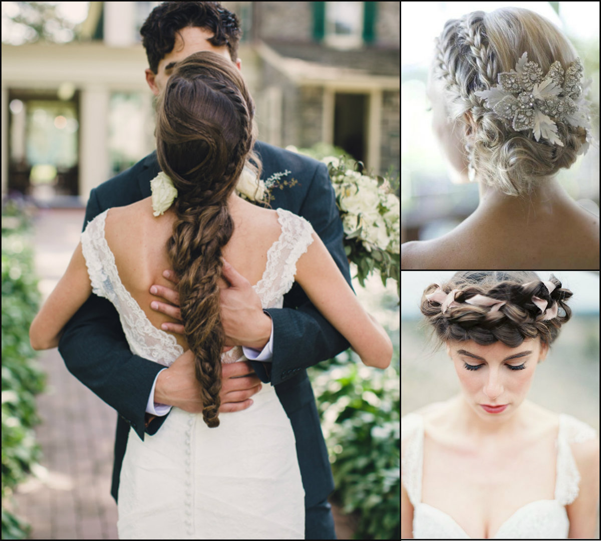 Lovely Wedding Braids Hairstyles 2017