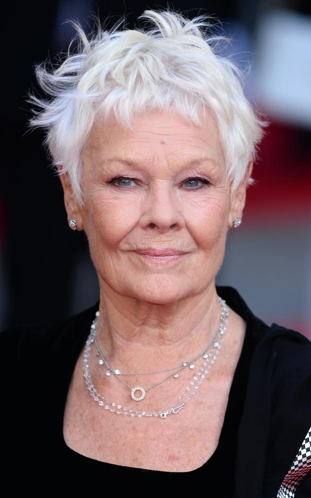 Judi Dench iconic pixie cuts 2017