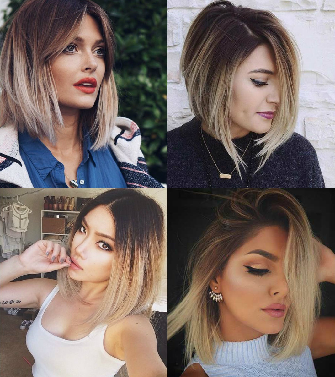 Fascinating Ombre Bob Hairstyles To Try Pretty Hairstyles