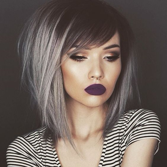 bob-hairstyles-with-silver-ombre-highlights