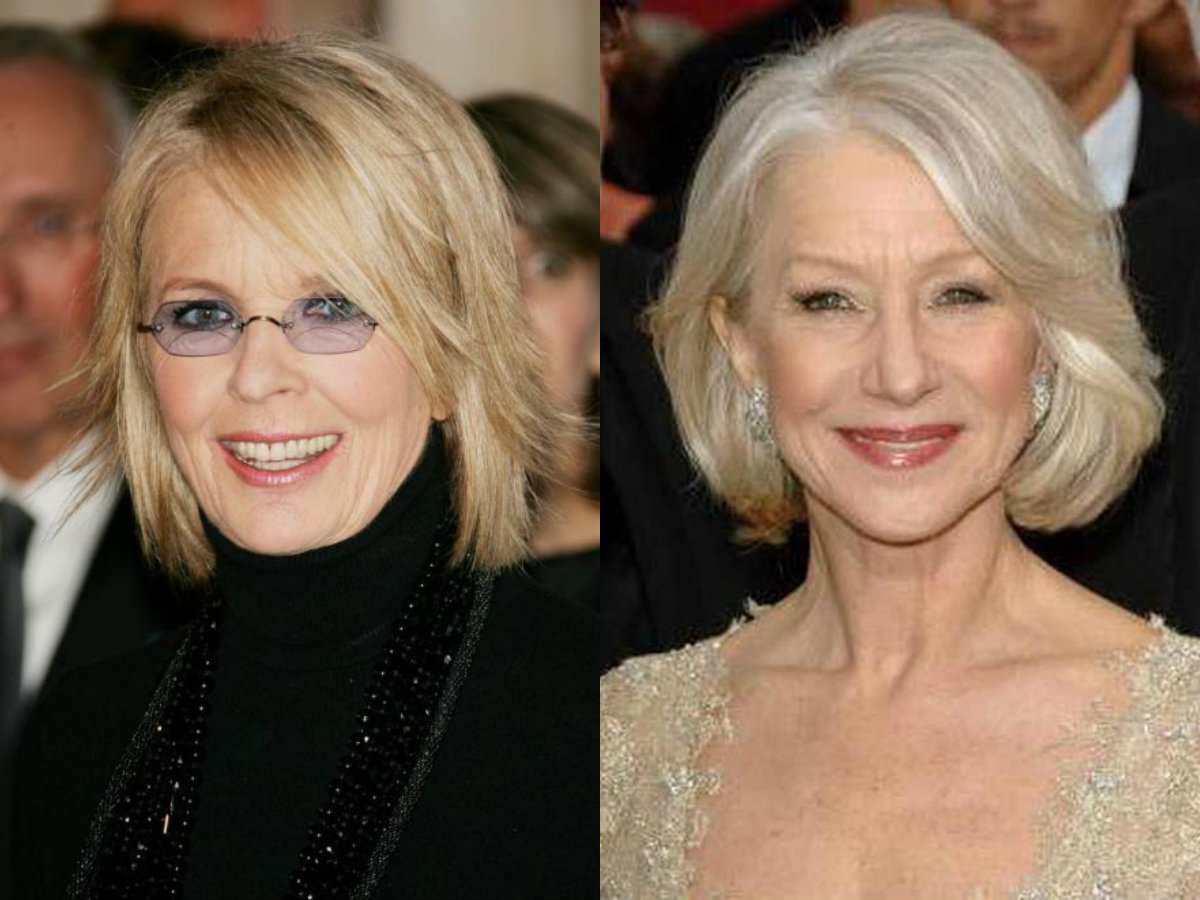 Celebrity Bob Hairstyles For Mature Women