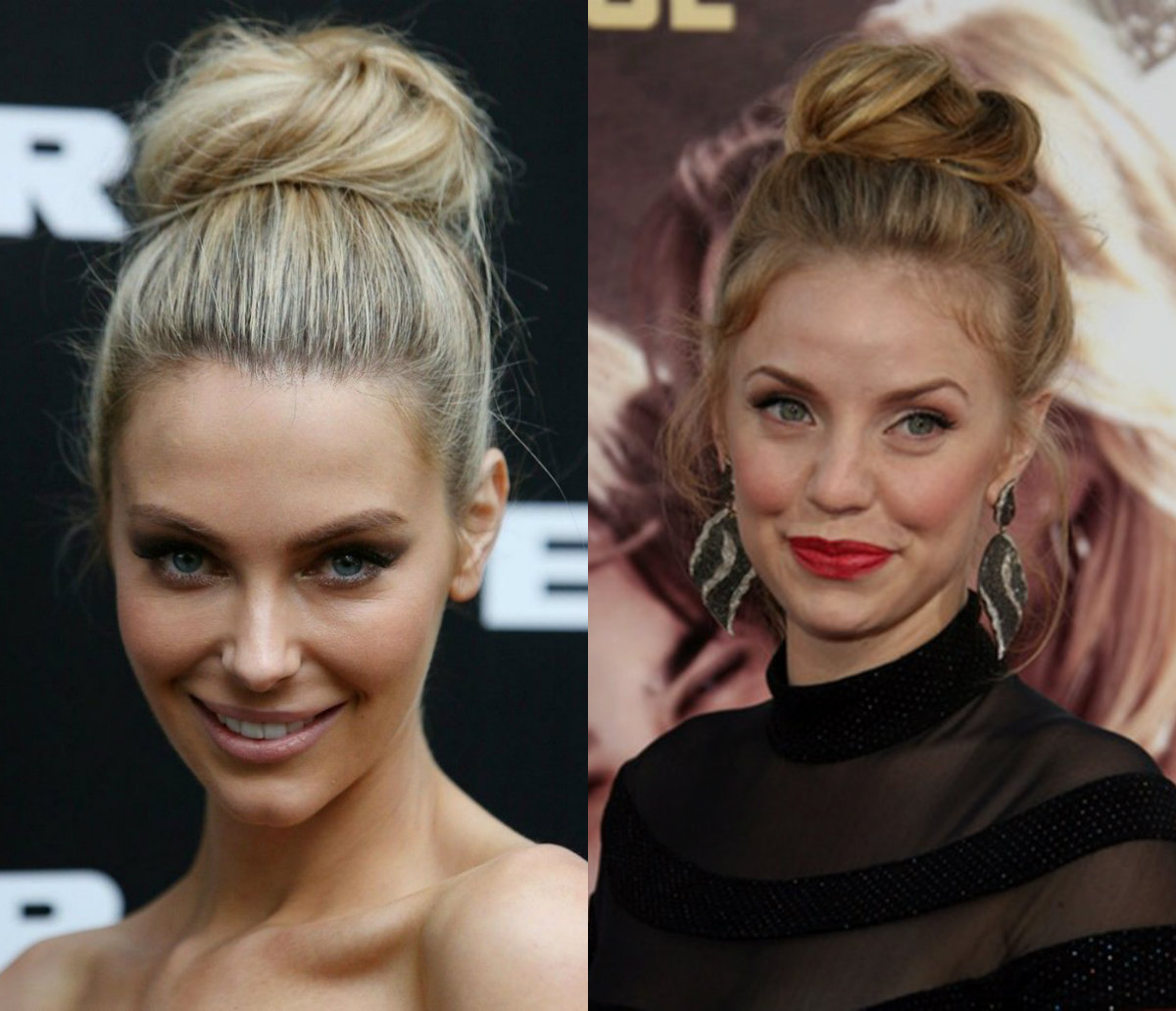 classy-high-bun-party-hairstyles-2017