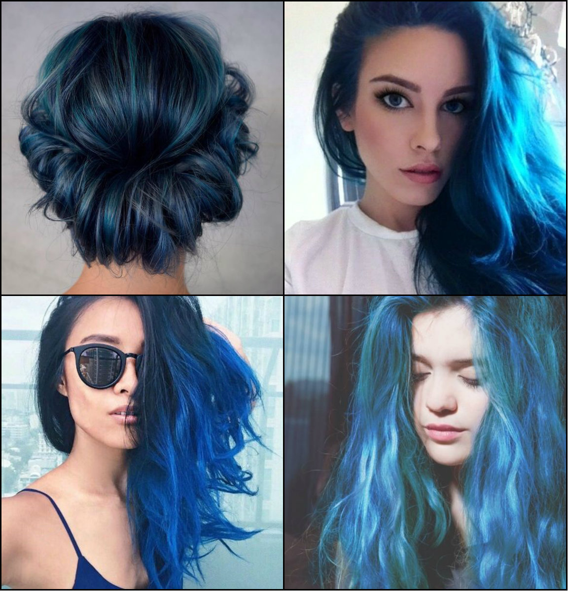 Sea and Sky Blue Hair Color 2017 You Will Adore