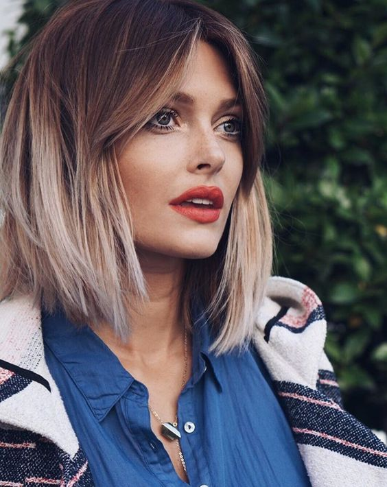 Terrific Fascinating Ombre Bob Hairstyles To Try Pretty Hairstyles Com Hairstyles For Women Draintrainus