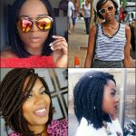 Cool Short Box Braids Hairstyles For Black Women