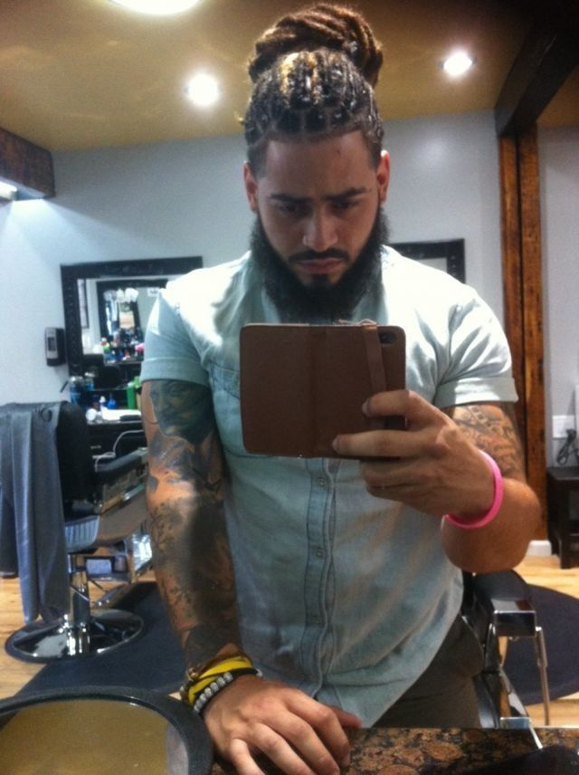 Beards Black Men Hairstyles Pretty