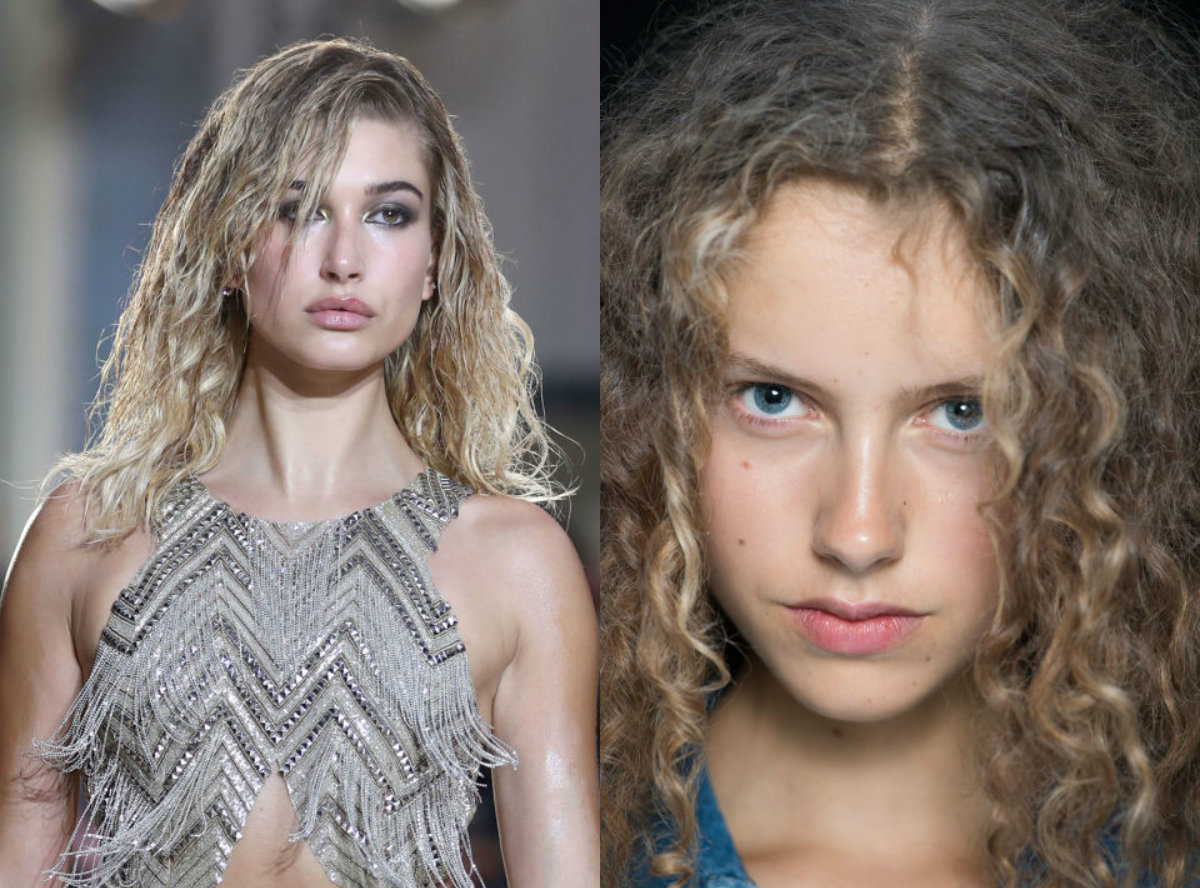 Hairstyles Spring 2017 : Speaking about naturalness, we come across the curly hair. If before ...