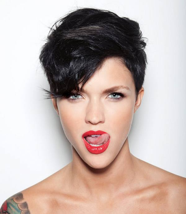 short-black-pixie-hairstyles