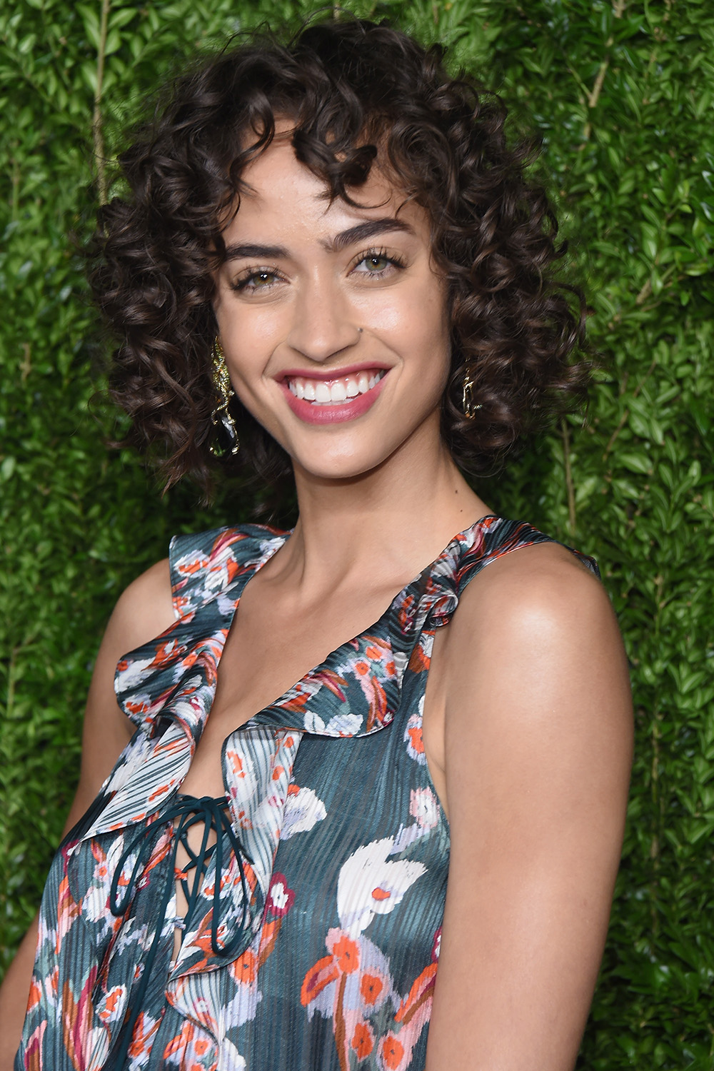 Alanna Arrington natural curly hairstyles 2017 spring