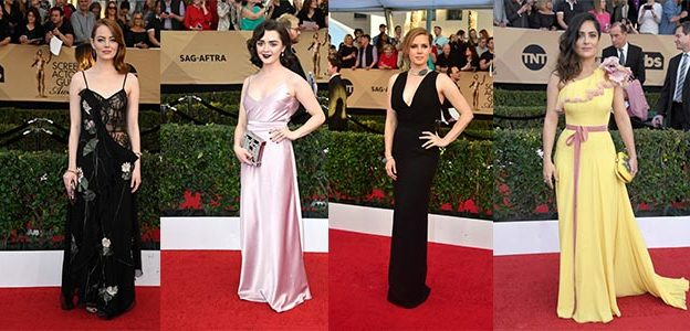 Best SAG Awards Hairstyles 2017