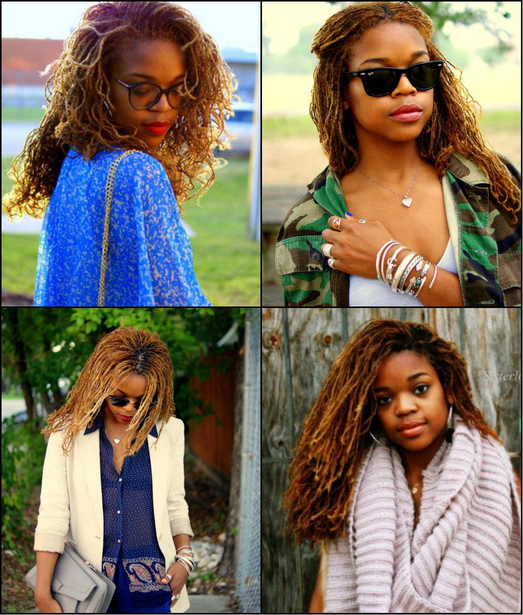 best black women sisterlocks hairstyles