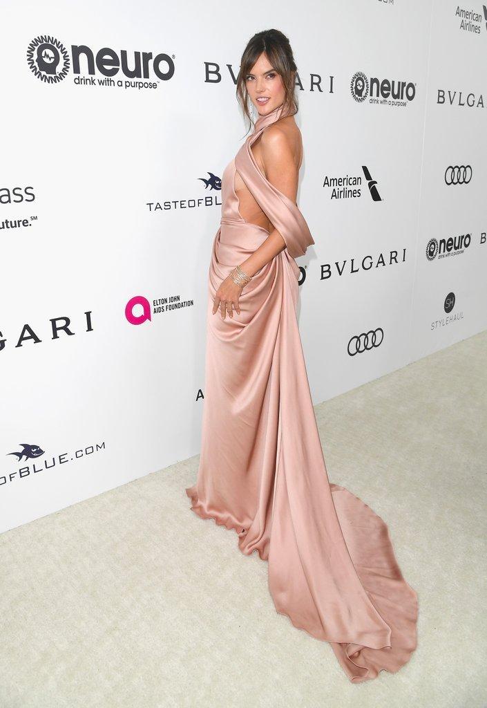 Alessandra Ambrosio hairstyles 2017 Oscars